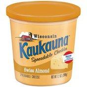 Bel Kaukauna Swiss Almond  Spreadable Cheese