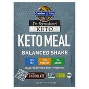 Garden of Life Keto Meal, Balanced Shake, Chocolate