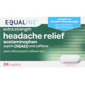 Equaline Headache Relief, Extra Strength, Caplets