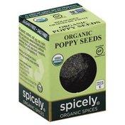Spicely Organics Poppy Seeds, Organic
