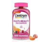 Centrum MultiGummies Women Multi+Beauty Supplement, MultiGummies Women Multi+Beauty Supplement