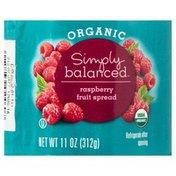 Simply Balanced Fruit Spread, Organic, Raspberry