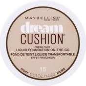 Maybelline Cushion Fresh Face Liquid Foundation Ivory