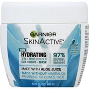 Garnier Day/Night Mask, 3-in-1 Moisturizer, Hydrating