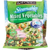 Best Choice Steamables Frozen Mixed Vegetables