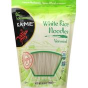 Ka-Me Noodles, White Rice, Vermicelli