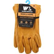 Wells Lamont Palomino Grain Cowhide Work Gloves - M - Tan