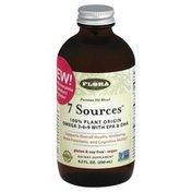 Flora Oil Blend, Premium, 7 Sources