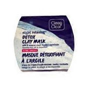 Clean & Clear Night Relaxing Detox Clay Face Mask