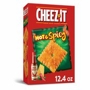 Cheez-It Cheese Crackers, Baked Snack Crackers, Hot and Spicy