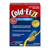 Cold-Eeze Cold Remedy Lozenges Tropical Orange Flavor - 24 CT
