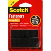 Scotch Fasteners Heavy-Duty Black