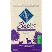 Blue Buffalo Basics Limited Ingredient Diet Turkey & Potato Recipe With Lifesource Bits Natural Food for Dogs