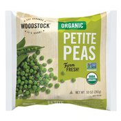 WOODSTOCK Organic Petite Peas