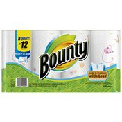 Bounty Select-a-Size with Prints Giant Roll Paper Towels