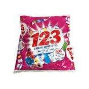 123 Floral Essence Laundry Detergent 23 Loads