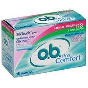OB Tampons, Multi-Pack