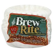 Brew Rite Coffee Filters, Basket-Style, 8-12 Cup
