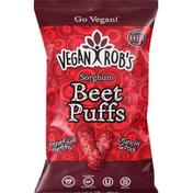 Vegan Rob's Sorghum Puffs, Beet