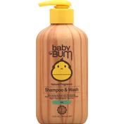 Baby Bum Shampoo & Wash, Natural Fragrance, Gel