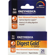Enzymedica Digest Gold, with ATPro, Capsules