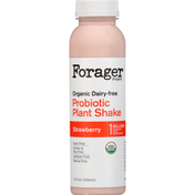Forager Project Strawberry & Banana Dairy-Free Probiotic Smoothie