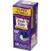 Fresh Kitty Super Jumbo Our Biggest Liner Ever Litter Box Liners Super Jumbo Drawstring Liners