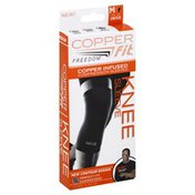 Copper Fit Knee Sleeve, Copper Infused, M, Unisex