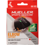 Mueller Elbow Support, Adjustable, Moderate