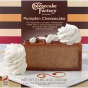 The Cheesecake Factory Pumpkin Cheesecake