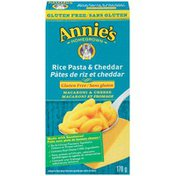 Annie's Canadian Gluten Free Rice Pasta & Cheddar Mac & Cheese Macaroni and Cheese Gluten Free