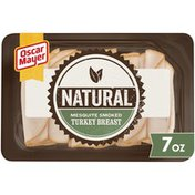 Oscar Mayer Mesquite Smoked Turkey Breast Sliced Lunch Meat