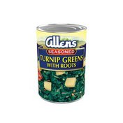 Allen's Seasoned Turnip Greens with Diced Roots