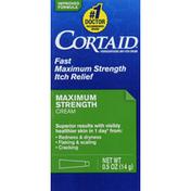Cortaid Itch Relief Cream, Maximum Strength