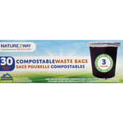 NatureZWay Compostable Waste Bags