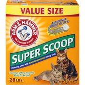 Arm & Hammer Super Scoop Clumping Fresh Scent Cat Litter