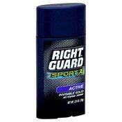 Right Guard Anti-Perspirant Deodorant, Invisible Solid, Active