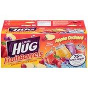 Little Hug Fruit Barrels Apple Orchard Variety Pack Fruit Drink