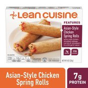 Lean Cuisine Features Asian-Style Chicken Spring Rolls