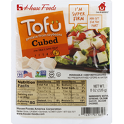 House Foods Tofu, Cubed