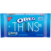 Oreo Thins Chocolate Sandwich Cookies, Original Flavor, 1 Resealable Pack