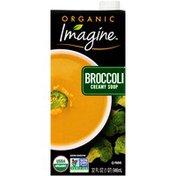 Imagine Organic Broccoli Creamy Soup
