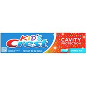 Crest Kid's Cavity Protection Toothpaste, Sparkle Fun