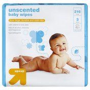 Up&Up Baby Wipes, Unscented, 3 Packs