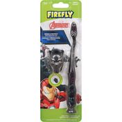 Firefly Toothbrush with Cap, Soft, 3+