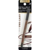 L'Oreal Pencil Eyeliner, Waterproof, Bronze 840