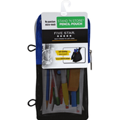 Five Star Pencil Pouch, Stand 'N Store