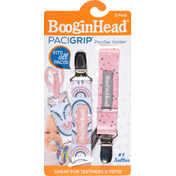 BooginHead Pacifier Holder, 2 Pack