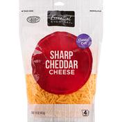 Essential Everyday Cheese, Sharp Cheddar, Classic Cut