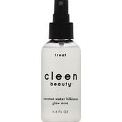 Cleen Beauty Glow Mist, Coconut Water Hibiscus